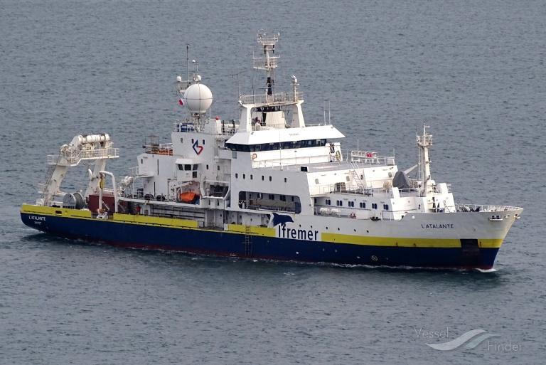 L'Atalante en mission pour une meilleure connaissance du monde sous marin