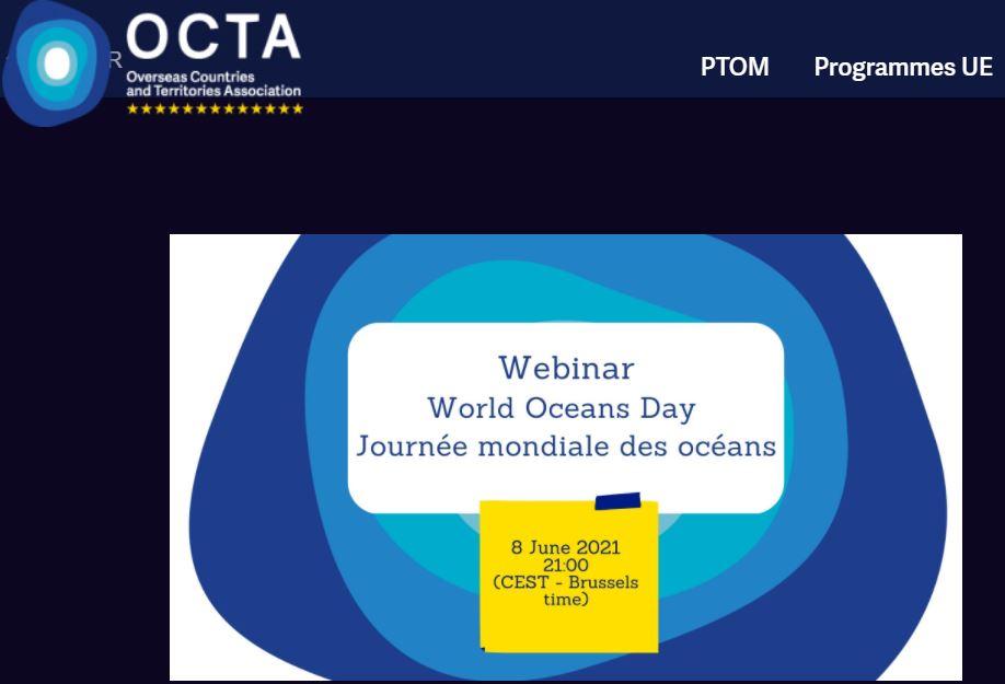 Deux webinaires concernant le maritime le 9 juin : OCTA et Australie