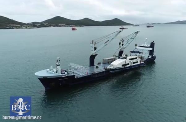 Le Mary-D Odyssey quitte la Calédonie sur un cargo