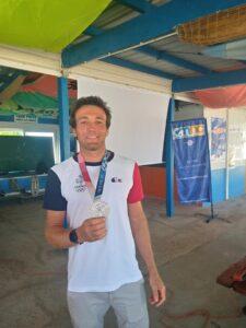vice champion olympique
